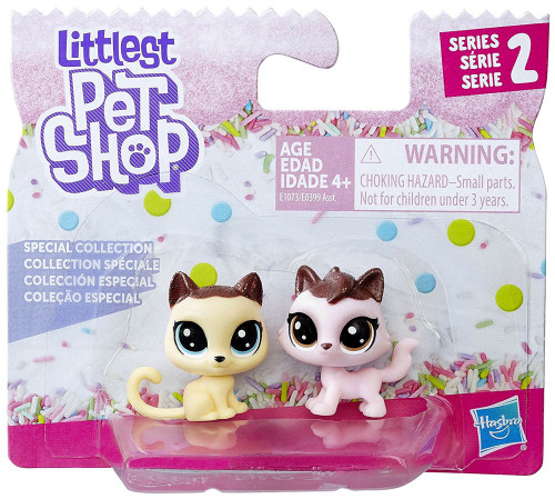 Littlest Pet Shop Special Collection Series 2 Crumpet Shortfur & Sugarberry Fluffcat 2-Pack [Cats]