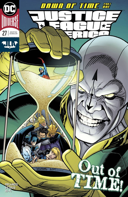 DC Justice League of America #27 Comic Book