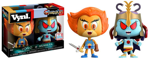 Funko Thundercats Vynl. Lion-O & Mumm-Ra Exclusive Vinyl Figure 2-Pack [Damaged Package]
