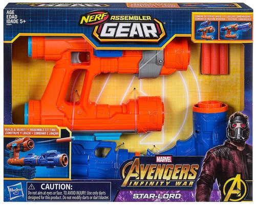 Marvel Avengers Infinity War Nerf Star-Lord Assembler Gear