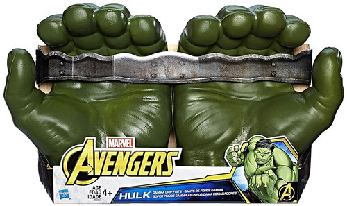 Marvel Avengers Infinity War Hulk Gamma Grip Fists Roleplay Toy