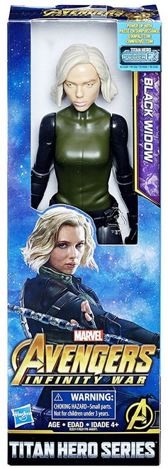 Marvel Avengers Infinity War Titan Hero Series Black Widow Action Figure [Infinity War]