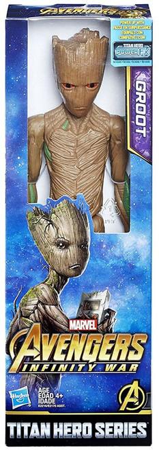 Marvel Avengers Infinity War Titan Hero Series Groot Action Figure