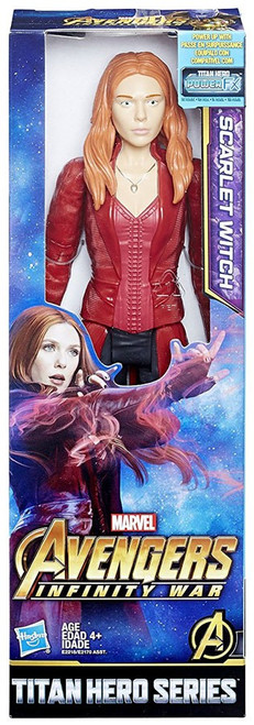 Marvel Avengers Infinity War Titan Hero Series Scarlet Witch Action Figure