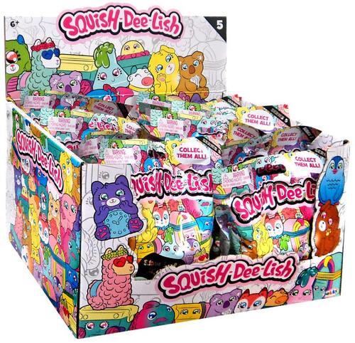 Squish-Dee-Lish Series 5 Mystery Box [12 Packs]
