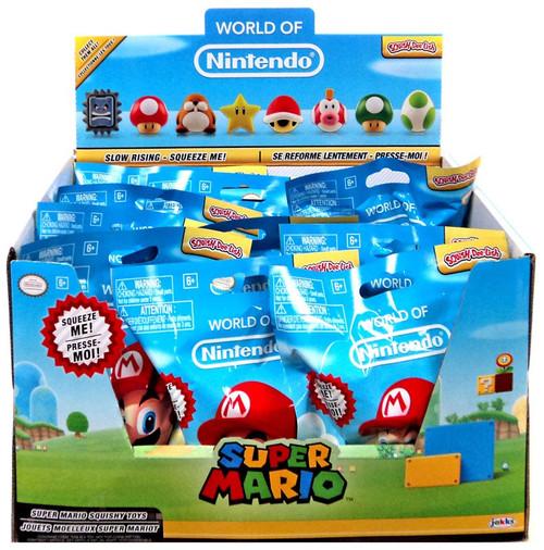 World of Nintendo Squish-Dee-Lish Super Mario Series 2 Mystery Box [12 Packs]