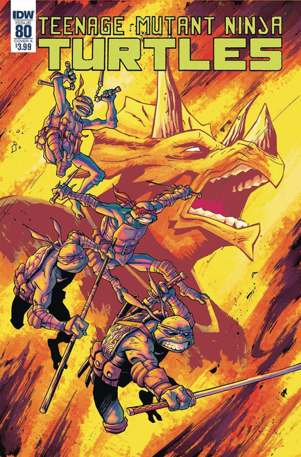 IDW Teenage Mutant Ninja Turtles Ongoing #80 Comic Book