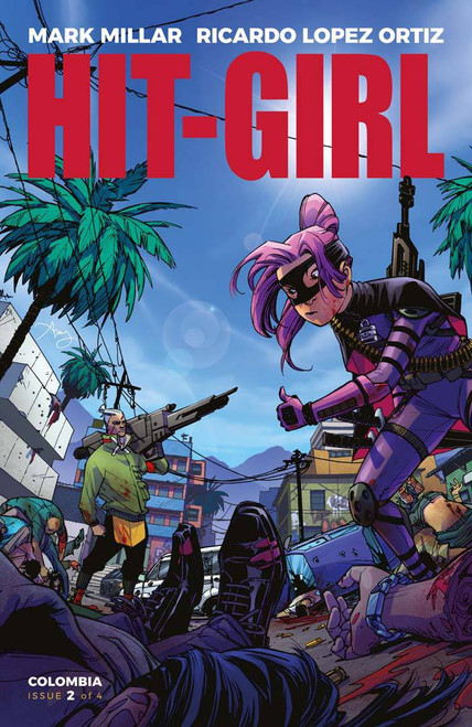 Image Comics Hit-Girl #2 Comic Book