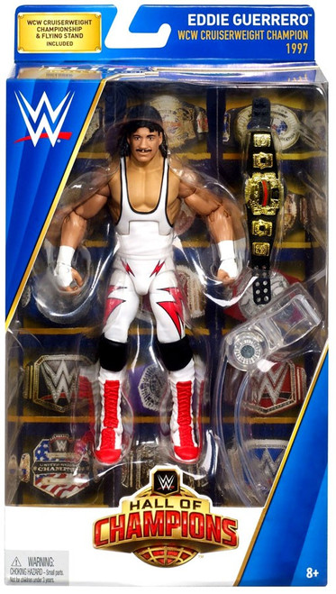 WWE Wrestling Elite Hall of Champions Eddie Guerrero Exclusive Action Figure