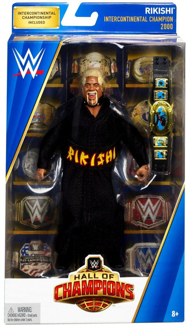 WWE Wrestling Elite Hall of Champions Rikishi Exclusive Action Figure