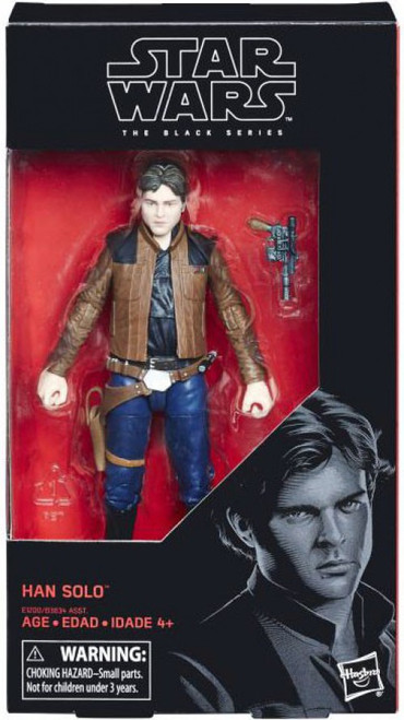 Star Wars Black Series Han Solo Action Figure [Solo Movie]