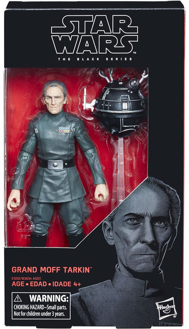 Star Wars A New Hope Black Series Grand Moff Tarkin Action Figure