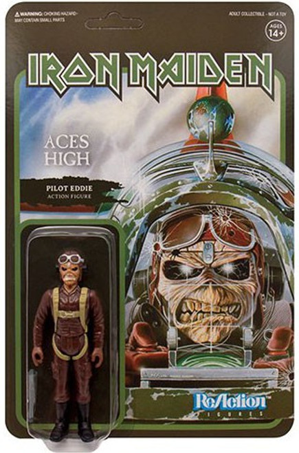 ReAction Iron Maiden Aces High Eddie Action Figure