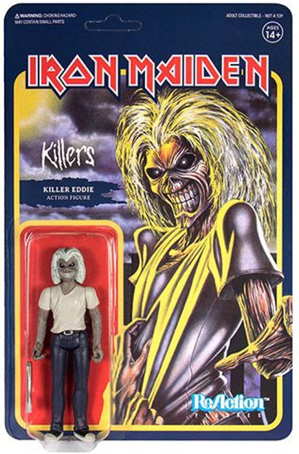 ReAction Iron Maiden Killers Eddie Action Figure
