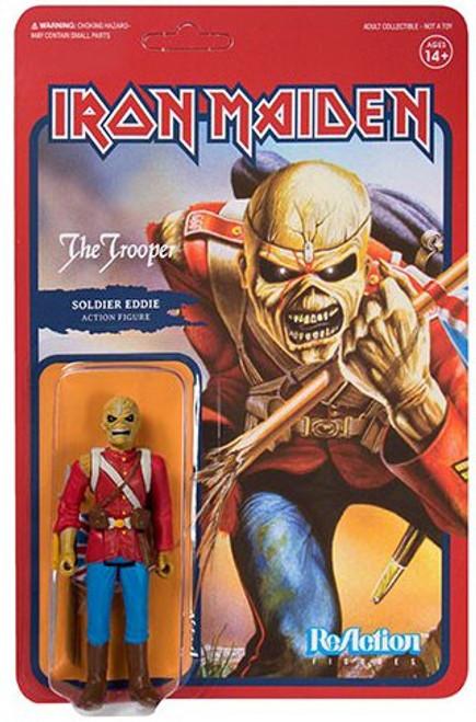 ReAction Iron Maiden Trooper Eddie Action Figure