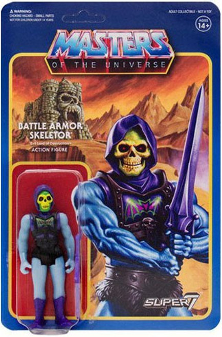 ReAction Masters of the Universe Series 3 Battle Armor Skeletor Action Figure