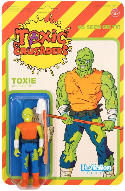 ReAction Toxic Avenger Action Figure [Toxic Crusader Variant]