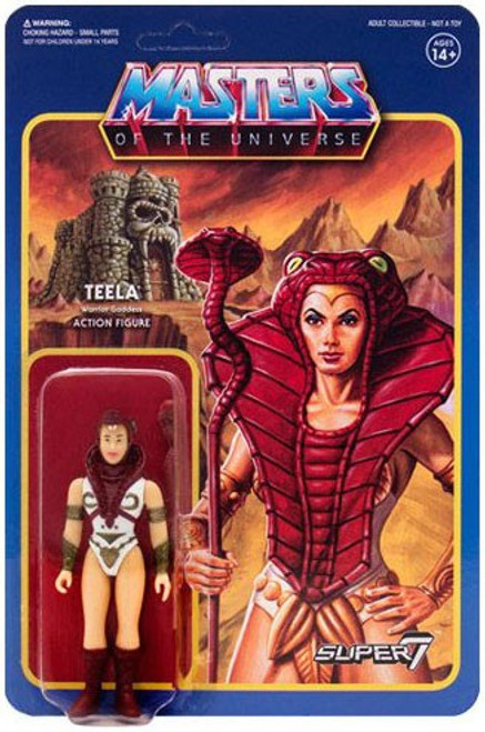 ReAction Masters of the Universe Series 3 Teela Action Figure
