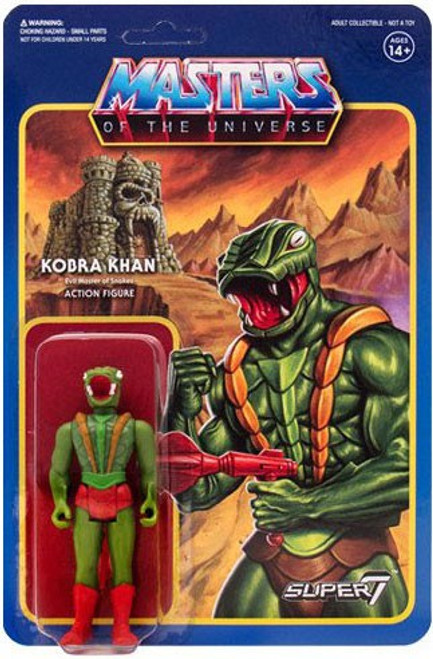 ReAction Masters of the Universe Series 3 Kobra Khan Action Figure