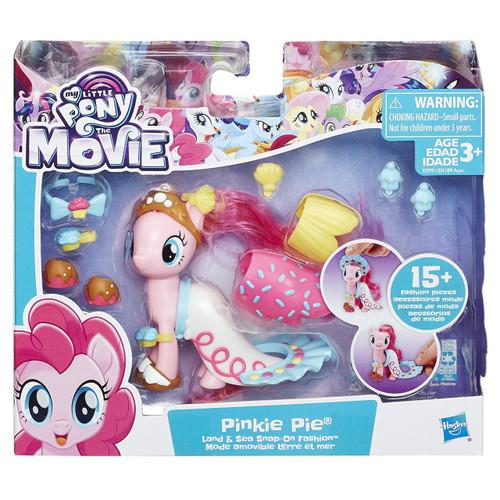 My Little Pony The Movie Land & Sea Fashion Pinkie Pie Figure
