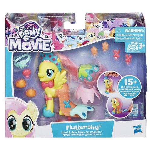 My Little Pony The Movie Land & Sea Fashion Fluttershy Figure
