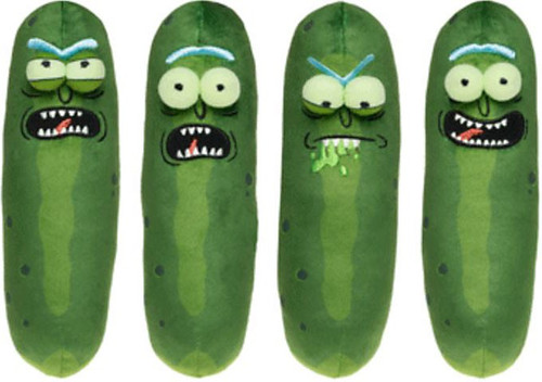 Funko Rick & Morty Galactic Pickle Rick Set of 4 Plush [4 Expressions]