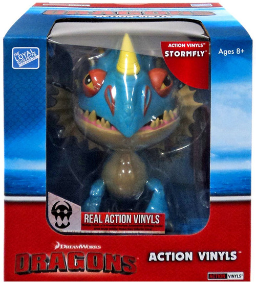 How to Train Your Dragon Action Vinyls Stormfly Vinyl Figure [Damaged Package]