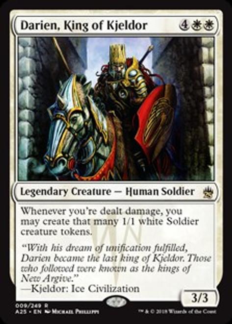 MtG Masters 25 Rare Darien, King of Kjeldor #9