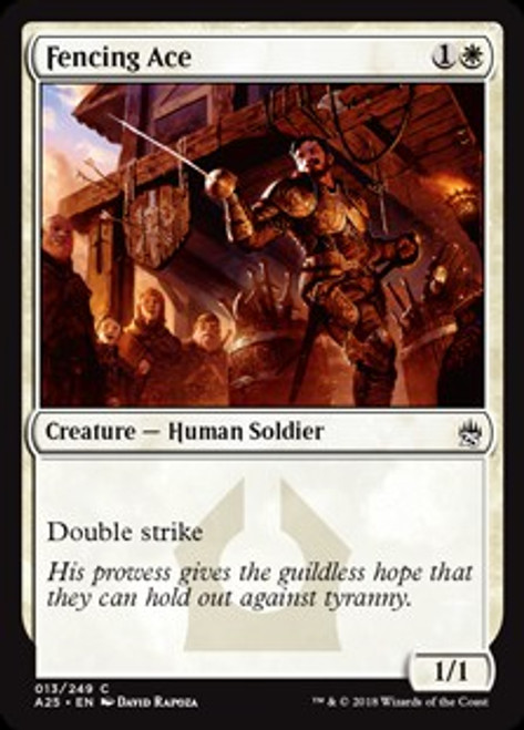 MtG Masters 25 Common Fencing Ace #13