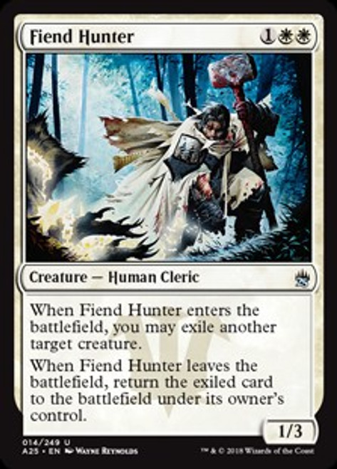 MtG Masters 25 Uncommon Fiend Hunter #14