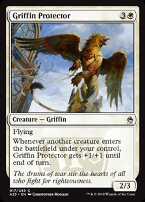 MtG Masters 25 Common Griffin Protector #17