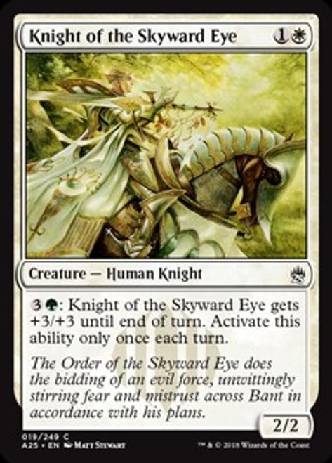 MtG Masters 25 Common Knight of the Skyward Eye #19
