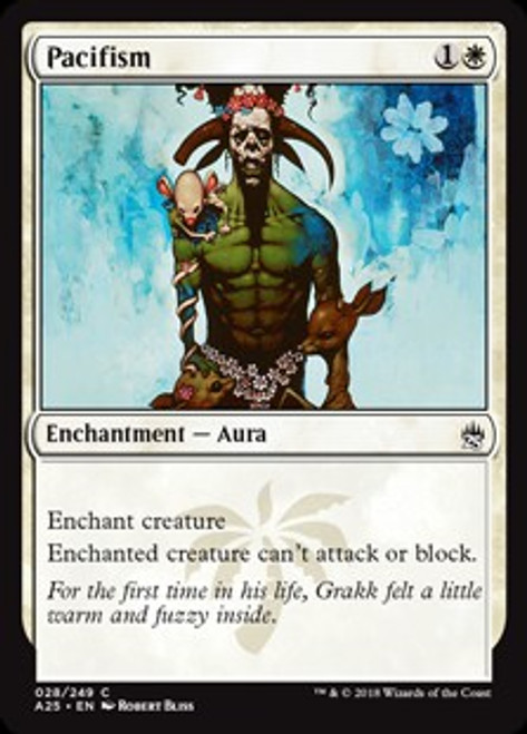 MtG Masters 25 Common Pacifism #28