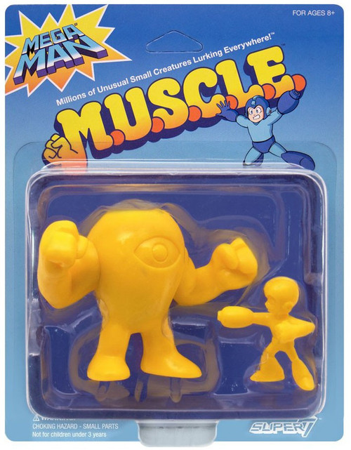 M.U.S.C.L.E. Yellow Devil & Mega Man Exclusive 1.75-Inch 2-Pack