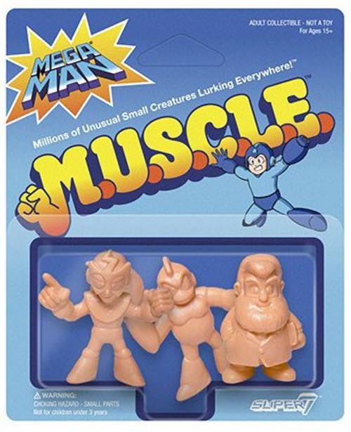 M.U.S.C.L.E. Mega Man Pack D - Doctor Light, Bomb Man, Elec Man 1.75-Inch 3-Pack