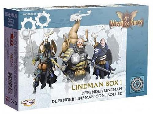 Wrath of Kings Lineman Box 1 Miniatures WOK04003 [Defender Lineman, Defender Lineman Controller]