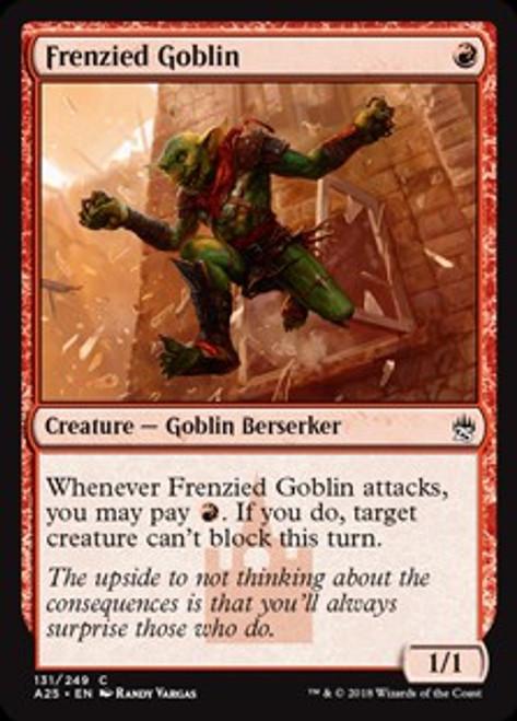 MtG Masters 25 Common Foil Frenzied Goblin #131