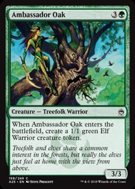 MtG Masters 25 Common Ambassador Oak #158