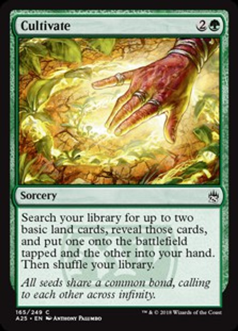 MtG Masters 25 Common Cultivate #165