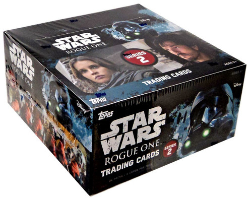 Star Wars Topps Rogue One Series 2 Trading Card Box [24 Packs]