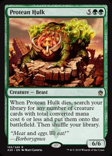 MtG Masters 25 Rare Protean Hulk #185