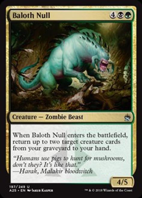 MtG Masters 25 Uncommon Baloth Null #197