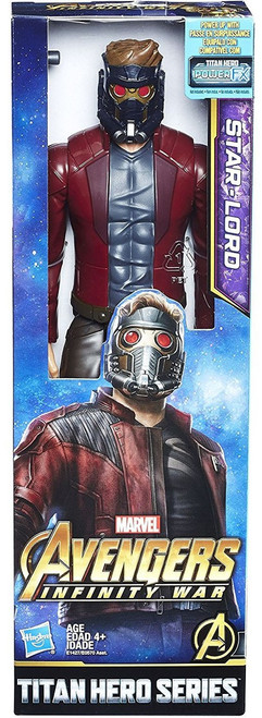 Marvel Avengers Infinity War Titan Hero Series Power FX Starlord Action Figure