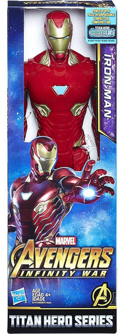 Marvel Avengers Infinity War Titan Hero Series Power FX Iron Man Action Figure [2018]
