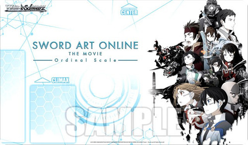Weiss Schwarz Sword Art Online The Movie Card Supplies Ordinal Scale Playmat