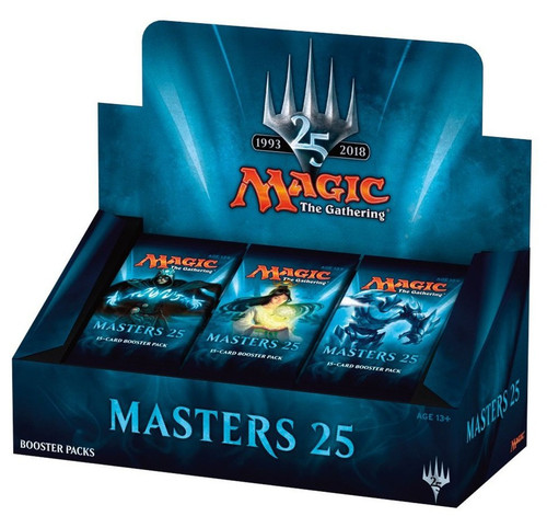 MtG Trading Card Game Masters 25 Booster Box [24 Packs]