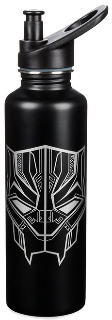 Disney Marvel Black Panther Exclusive 32 Ounce Water Bottle [Stainless Steel]