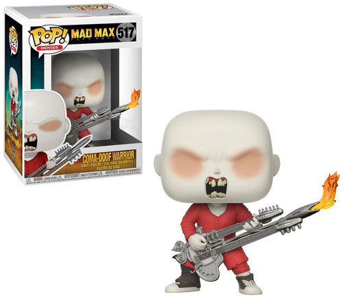 Funko Mad Max Fury Road POP! Movies Coma-Doof Warrior Exclusive Vinyl Figure #517 [Showing Teeth]