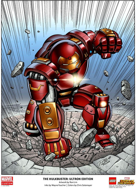 LEGO Marvel Super Heroes The Hulkbuster: Ultron Edition Poster [Color]