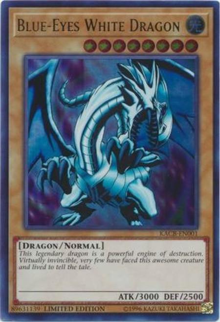 YuGiOh Kaiba Collection Box Promo Blue-Eyes White Dragon KACB-EN001